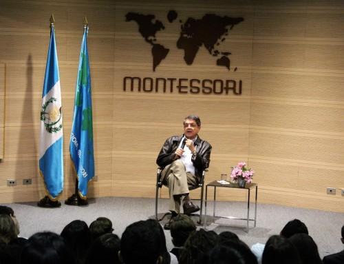 SERGIO RAMÍREZ, PREMIO CERVANTES 2017, EN EL MONTESSORI