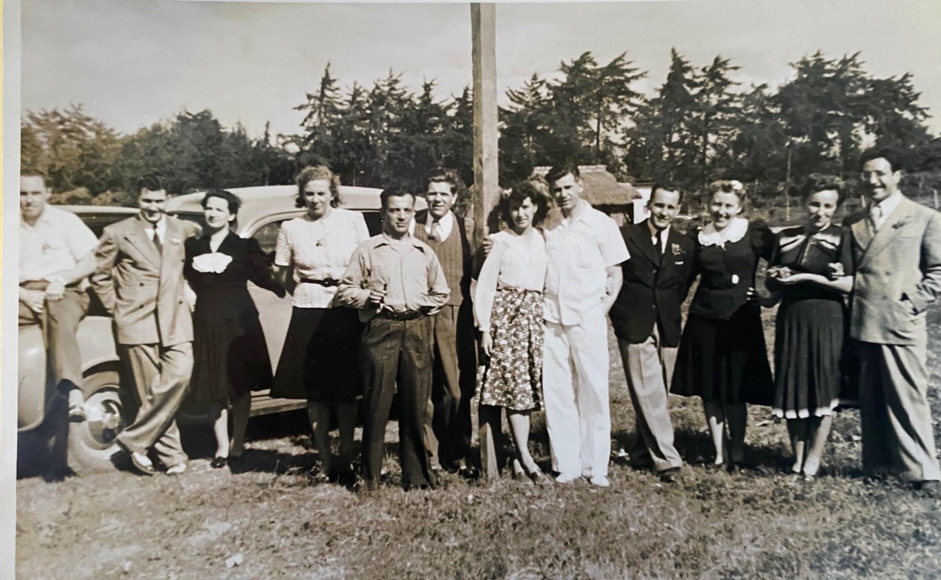 Miembros de la comunidad checa en Guatemala en 1942