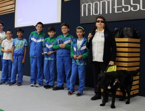 A TALK ABOUT GUIDE DOGS